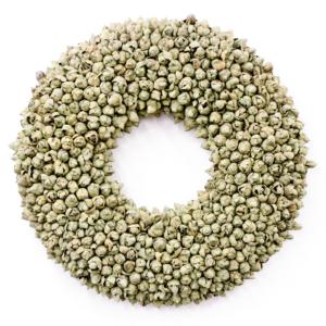 Krans Cocosfruit | olijfgroen