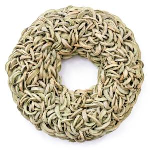 Krans Nucifera | olijfgroen