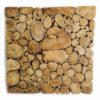 Wooden Wandpaneel | Natural round