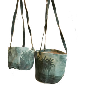 Plant Hanging basket - Canvas - Palmspring