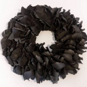 Krans Palmflower | zwart