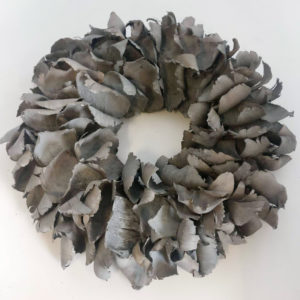 Krans Palmflower | dark grey wash