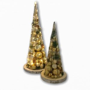 Kerstboom | Limited edition | Rond | Goud