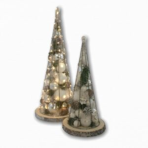 Kerstboom | Limited edition | Rond | Zilver