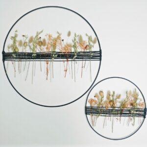 Droogbloemen | Decoratie Cirkel | Naturel