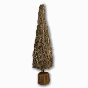 Boomkegel | Kerst | Mos | Grijs