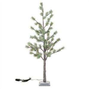 Kunstboom | Kerst | Deluxe | Groen | Frosted Pine | met verlichting | 90cm